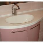 Мойка для ванной комнаты из камня