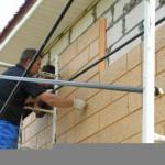 Монтаж фасадных термопанелей