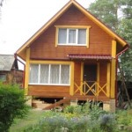 Комплект дома из профилированного бруса