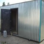 Металлические строительные бытовки