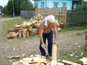 Как необходимо правильно пилить дрова?