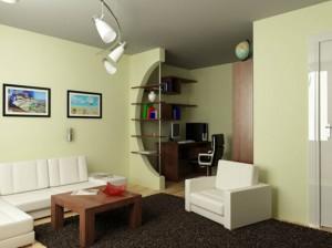 Дизайн проект однокомнатной квартиры хрущевки