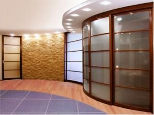 Радиальные шкафы с раздвижными дверями