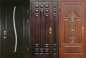 Входные двери с отделкой мдф