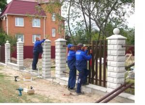 Заборные столбы