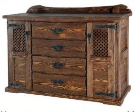 Мебель под старину из сосны