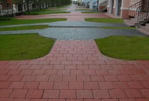 Полимерная плитка тротуарная