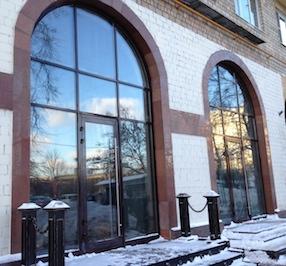 Витринные окна из алюминия