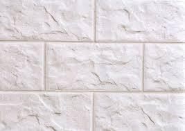 Клинкерная плитка белого цвета