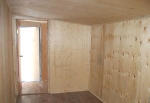 Отделка фанерой стен дома