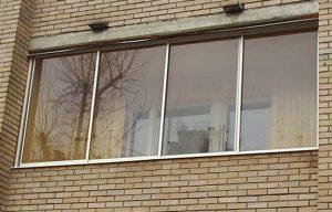 Выбор материалов для остекления балконов