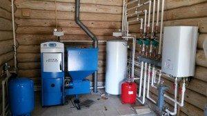 Монтаж системы отопления поэтапно